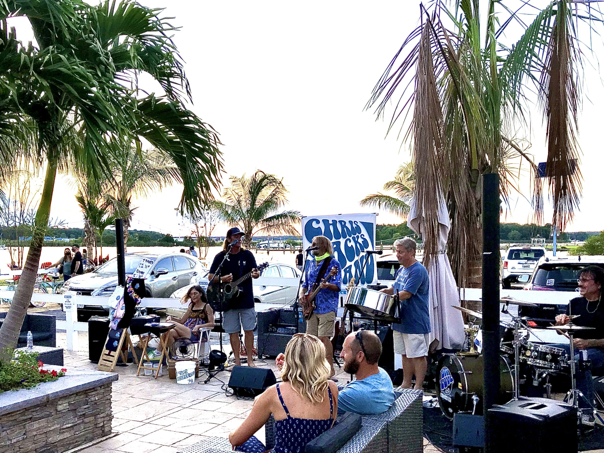 The Chris Sacks Blue Water & Tiki Bar Band